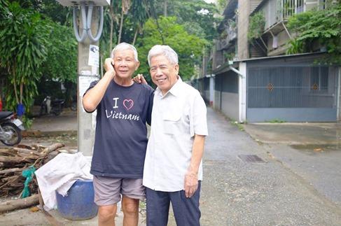 Tac gia voi Bui Ngoc Tan o Thanh Da 2013