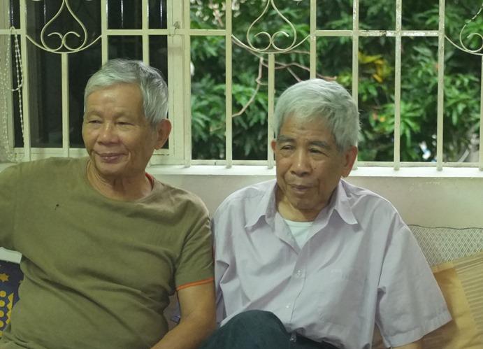 Bui Ngoc Tan va NQ Than o Thanh Da (TPHCM 2014)