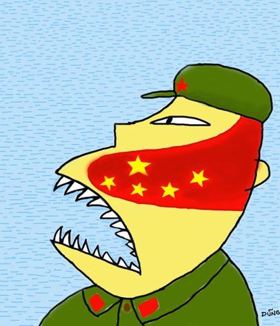 2012 Trung Quốc cho in Đường lưỡi bò lên hộ chiếu cho dân của họ