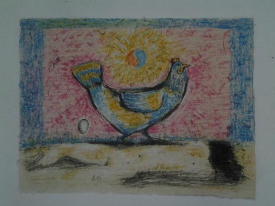Nghệ thuật - Tranh Gà 8