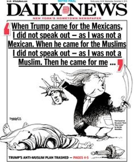 Trump, đao phủ khát máu?
