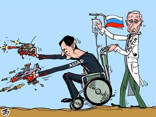 Độc tài Bashar Al-Assad và bạn vàng của y