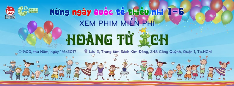 Cover facebook Hoàng tử ếch