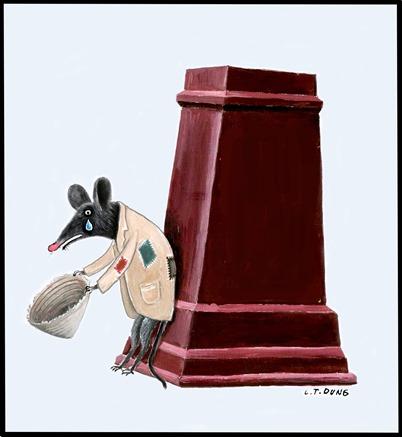 Đánh chuột đừng để vỡ bình