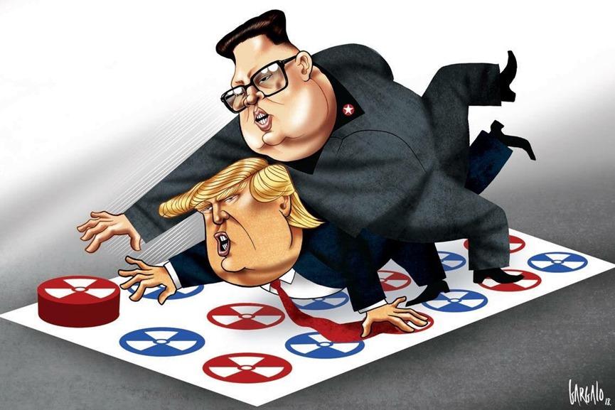 Tương quan lực lượng năm 2017 và trò chơi bấm nút