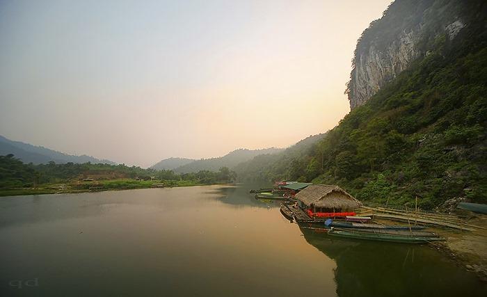 Sông Giăng Nghệ Tĩnh. Hỉnh Internet