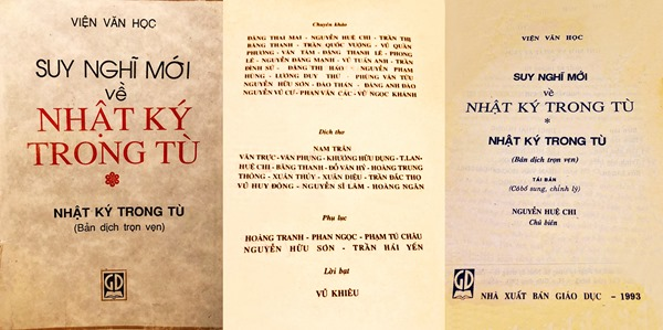 3 bìa Suy nghĩ mới 1993