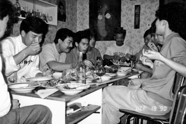 Tết bên Tiệp -Thái để râu trong bữa cơm với anh em bên Tiệp_thumb[1]