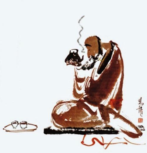Trà Đạo. Tranh cổ Nhật Bản