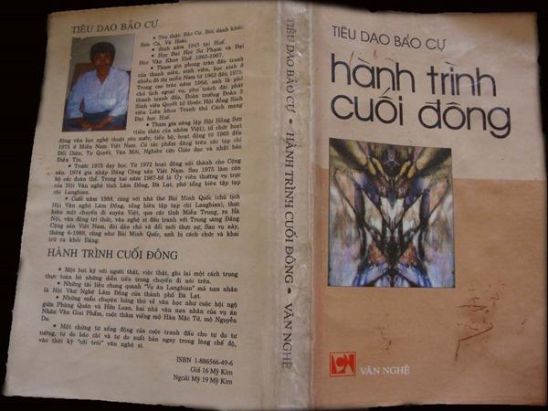 Hình bìa Hành trình cuối đông, nxb Văn Nghệ, Hoa Kỳ, 1998