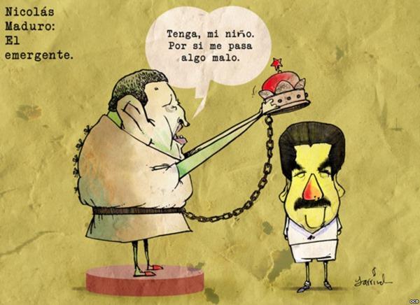 1. Hugo Chvez đã phong vương cho đệ tử của ông ta