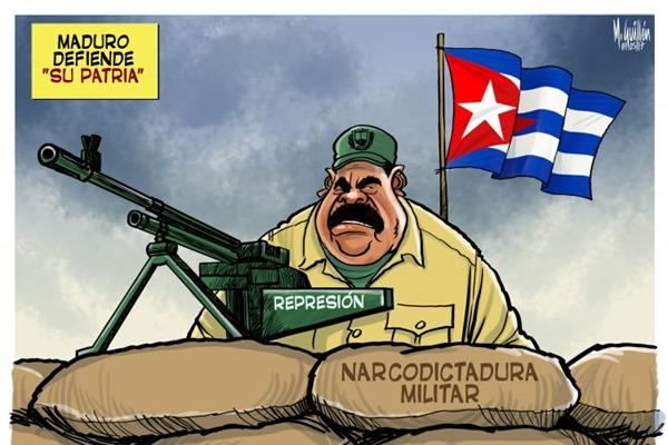 5. Maduro đang  bảo vệ quê hương ...
