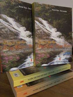 Đỗ Quyên- Bìa sách Tuyển tập tho Việt - Tiệp